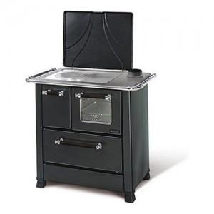 Nordica ROMANTICA 3,5 Cucina a legna libera installazione. Rivestimento