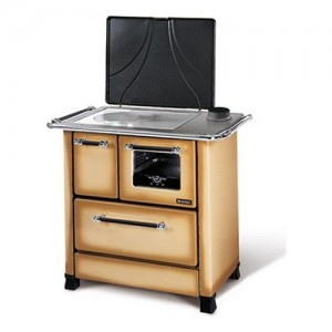 Nordica ROMANTICA 3,5 Cucina a legna dotata di focolare: Ghisa. Dimensio