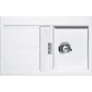 Lavello 1 vasca + gocciolatoio SCHOCK Horizont D100 A 99 HOND100A99 ( BIANCO PURO )