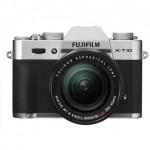 Fotocamere Fujifilm X-T10 + 18-55mm F2.8-4 R LM OIS Silver