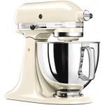 Robot Da Cucina 4,8 Litri Crema Artisan  KitchenAid 5KSM125EAC  - GARANZIA ITALIA 5 ANNI