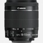 Obiettivo Canon EF-S 18-55mm f/3.5-5.6 IS STM (kit lens)