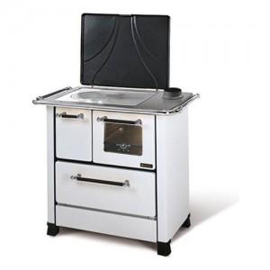 Cucina legna Nordica ROMANTICA 4,5 Dx bianco larghezza 96cm
