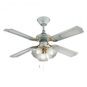 Perenz 7060-B Ventilatore da soffitto a 4 pale, diametro 105 cm,