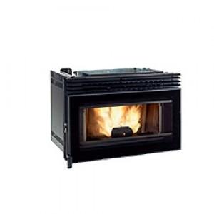 Extraflame Comfort P80 Inserto estraibile, vetro ceramico resistente a 75