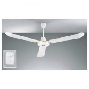 Perenz 7030B Ventilatore da soffitto in metallo bianco a 3 pale
