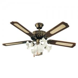 Perenz 7066-OB Ventilatore da soffitto a 5 pale, diametro 130 cm,