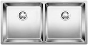 Lavello da Incasso 2 Vasche Blanco ANDANO 400/400-U 1518325 - 518325
