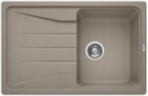 Lavello da Incasso 1 Vasca + Gocciolatoio Blanco SONA 45 S Alumetallic 1519664 - 519664