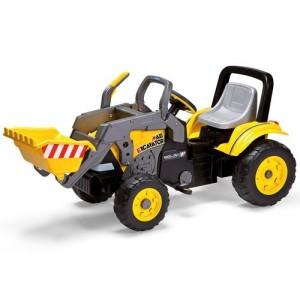 Peg Perego CD0552 Maxi Excavator è la possente ruspa a pedali Peg P