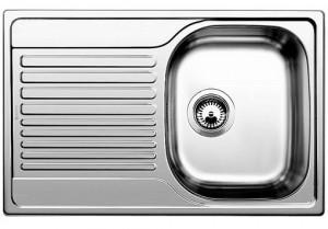 Lavello da Incasso 1 Vasca + Gocciolatoio Blanco TIPO 45 S Compact Vasca Dx 1318615