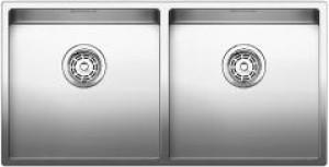 Lavello da Incasso 2 Vasche Blanco CLARON 400/400-U 1517231 - 517231
