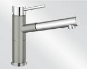 Miscelatore da Incasso Blanco ALTA S Compact Grigio Perla / Cromato 1520730 - 520730