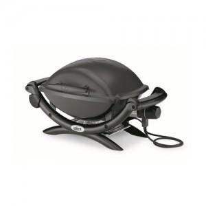 Weber 52020053 Barbecue elettrico Q1400 Dark Grey con griglia di