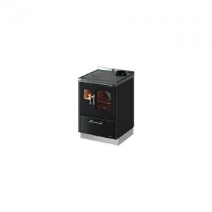 Cucina legna Cadel SMART 60 ventilata luce antracite larghezza 60cm