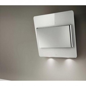 Cappa a Parete 55cm Vetro Bianco Elica BELT WH/F/55 - PRF0038445C
