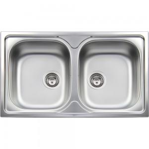 Lavello da Incasso 2 Vasche Apell TM862IPC ATMOSFERA