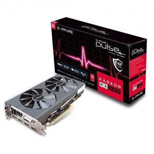 Scheda Video 11265-05-20G Sapphire RX 580 8GB GDDR5 PULSE RX 580 8GB GDDR5 - (Radeon RX 580, 8 GB, GDDR5, 256 bit, 3840 x 2160 pixels, PCI Express x16 2.0)