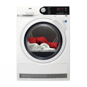 Asciugatrice Pompa di calore Serie 8000 Libera Installazione 8 Kg A+++ AEG T8DBE853