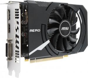 Scheda Video MSI GeForce GTX 1050 Ti 4GB Aero ITX OCV1