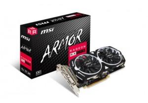 Scheda Video MSI Radeon RX 570 ARMOR 4G OC