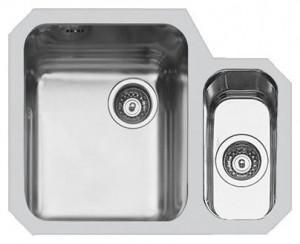 Lavello Sottotop 2 Vasche Inox Spazzolato Foster 1309 862 - 1309862