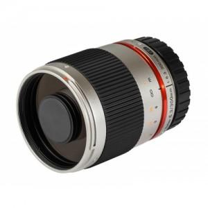 Obiettivo Samyang 300mm f/6.3 Mirror Lens Silver (M4/3)