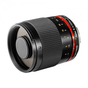 Obiettivo Samyang 300mm f/6.3 Mirror Lens Black (Fuji X)