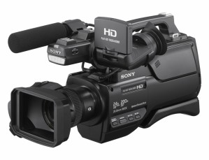 Videocamera Sony HXR-MC2500 Shoulder Mount AVCHD Camcorder (ENG Menu)