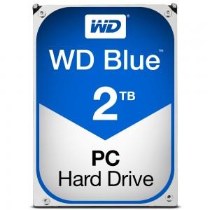 Hard disk Interno Western Digital 2TB. SATA-6Gb. 5400rpm. 64MB WD20EZRZ