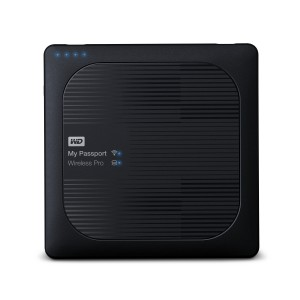 Hard disk Esterno Western Digital 1 TB MyPassport Wireless Pro USB3.0/Wi-Fi/SD WDBVPL0010BBK-EESN