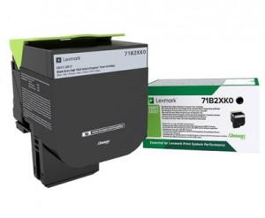Toner laser Lexmark Originale 71B2XK0 8000 pagine Nero