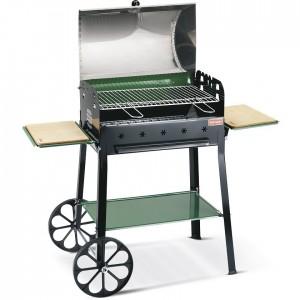 Barbecue Ferraboli Garda Carbonella Con Carrello Griglia 58x37