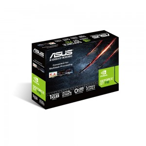 Scheda Video Asus GeForce GT 710 1GB SL 1GD5 BRK