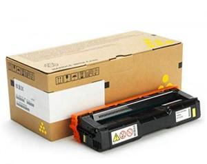 Toner 408355 Ricoh Originale M C250, Giallo 2.300 Pagine per PC300W, M C250FWB