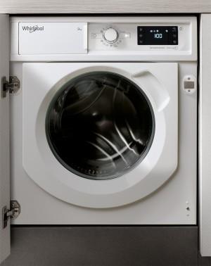 Lavatrice da Incasso a Carica Frontale 9 Kg A+++-30% 1400 giri/min Motore Inverter Whirlpool BI WMWG 91484E EU