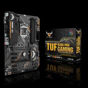Scheda Madre 90MB0X00-M0EAY0 ASUS TUF B360-PRO GAMING Intel B360 LGA 1151 (Socket H4) ATX