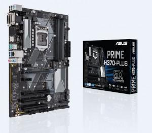 Scheda Madre 90MB0WA0-M0EAY0 ASUS PRIME H370-PLUS Intel H370 LGA 1151 (Socket H4) ATX
