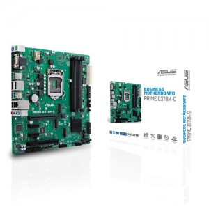 Scheda Madre 90MB0W70-M0EAYM ASUS Q370M-C LGA 1151 (Presa H4) Intel mini ATX