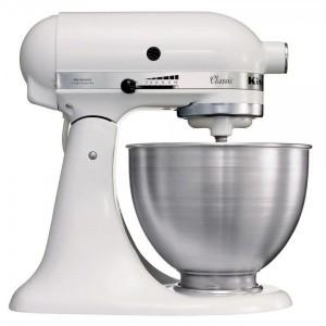 Robot Da Cucina 275 W 58-220 Rpm 4,3 Lt.  KitchenAid 5K45SSEWH