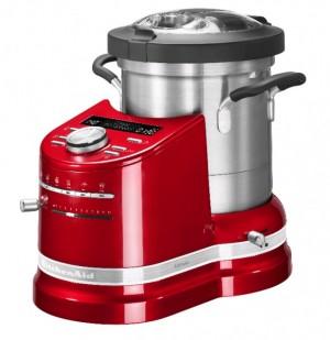 Robot Da Cucina Multifunzione Rosso Mela KitchenAid 5KCF0104ECA - GARANZIA ITALIA 3 ANNI