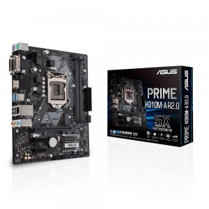 Scheda Madre 90MB0Z10-M0EAY0 ASUS PRIME H310M-A R2.0 LGA 1151 (Presa H4) Intel(r) H310 micro ATX