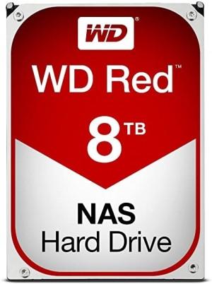 Hard Disk Interno Western Digital Red HDD 8000GB Serial ATA III WD80EFAX