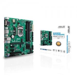 Scheda Madre 90MB0W70-M0EAYC ASUS PRIME Q370M-C/CSM Intel Q370 Micro ATX