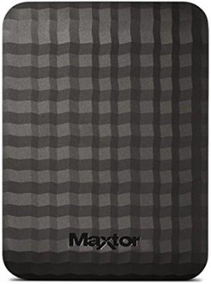 Hard disk Esterno Maxtor 2TB Maxtor M3 Portable 2.5 . USB 3.0. black STSHX-M201TCBM