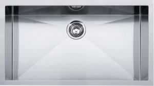 Lavello da Incasso 1 Vasca PEX 110-72AD Planar 8 Advanced Sottotop 72 x 40 inox Franke 122.0179.369