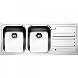 Lavello da Incasso 2 Vasche + Gocciolatoio Apell VE1162IRAC VENEZIA