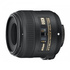 Obiettivo Nikon AF-S DX Micro NIKKOR 40mm f/2.8G