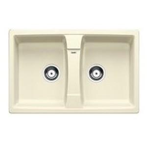 Lavello da Incasso 2 Vasche Blanco Zia 8 Jasmine 1524695