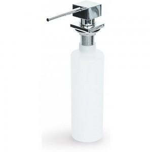 Dispenser sapone quadrato compatto (H 40mm) Elleci ADI02301